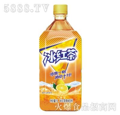 冰红茶果味饮料1L