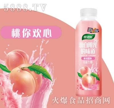 原道鲜白桃果汁饮品500ml