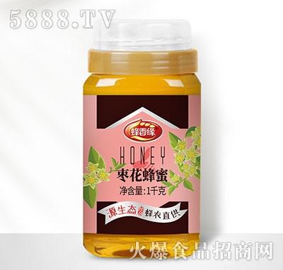 蜂香缘枣花蜂蜜瓶装1kg