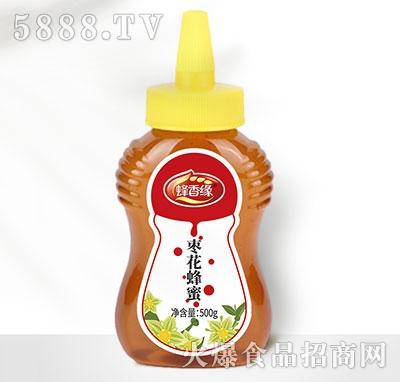蜂香缘枣花蜂蜜瓶装500g