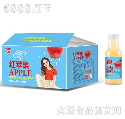 弥格红苹果果汁饮料445mlx15
