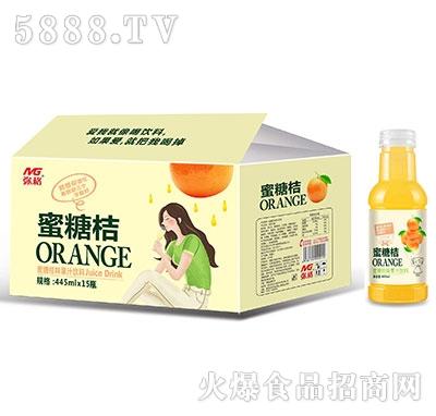 弥格蜜糖桔果汁饮料445mlx15