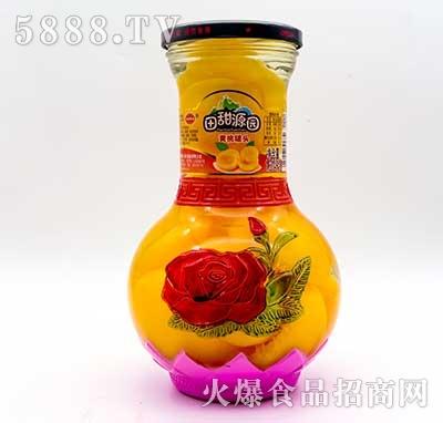 田甜源园黄桃罐头1.314kg