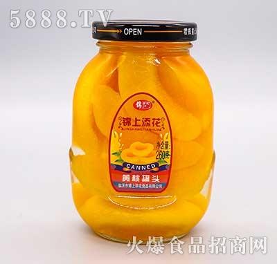 锦上添花黄桃罐头260g
