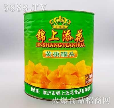 锦上添花黄桃罐头3kg
