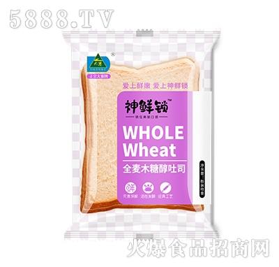大寨全麦木糖醇吐司面包
