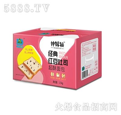 大寨经典红豆吐司起酥面包1.5KG