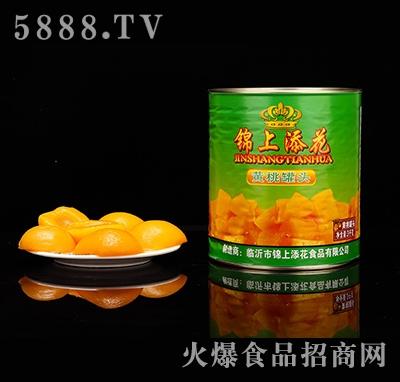 锦上添花黄桃罐头3千克