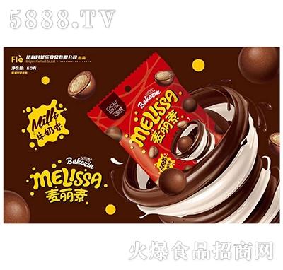 可欧梵牛奶味麦丽素巧克力60g产品图