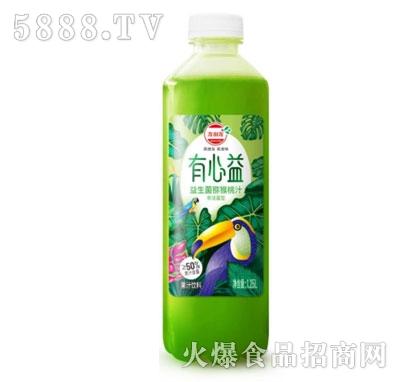有心益益生菌发酵猕猴桃汁1.25L