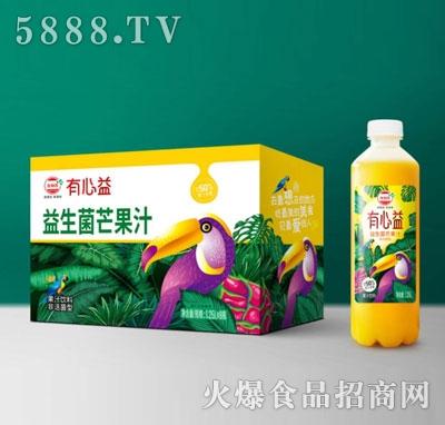 有心益益生菌发酵芒果汁1.25LX8