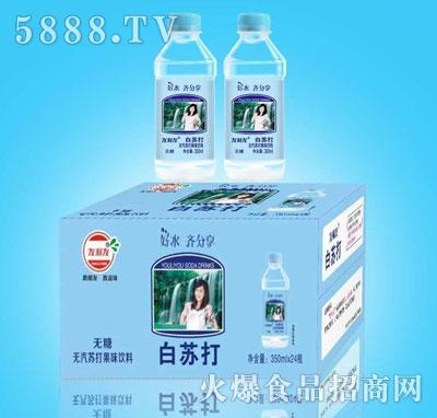 友利友白苏打350mlX24瓶