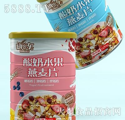 嗨谷乐酸奶水果燕麦片桶装500g