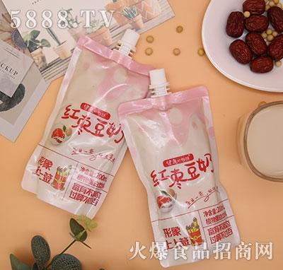 健康の物语红枣豆奶植物蛋白饮料200ml