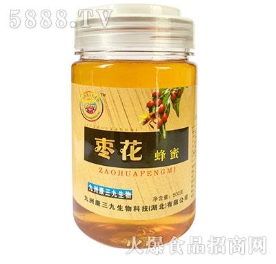 三九生物枣花蜂蜜500g
