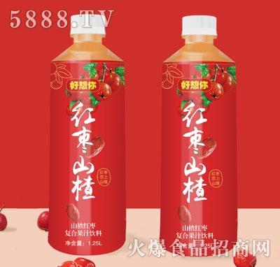 好想你红枣山楂复合果汁饮料1.25L