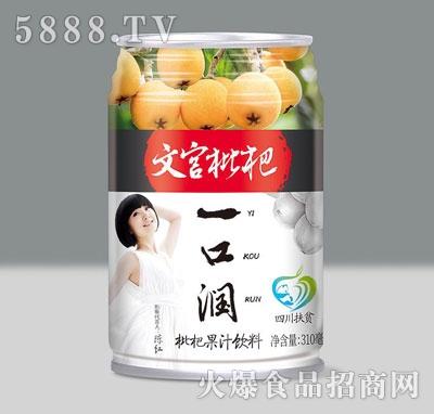 文宫枇杷枇杷果汁饮料310ml