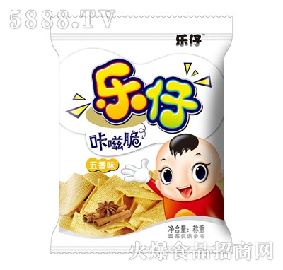 乐仔咔嗞脆五香味(袋)