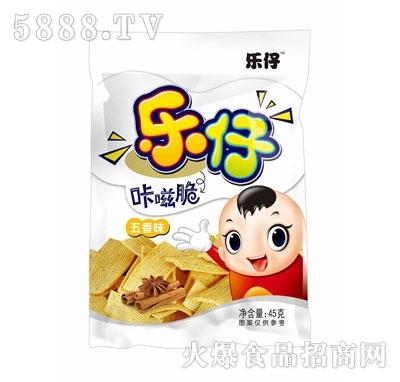 乐仔咔嗞脆五香味45g