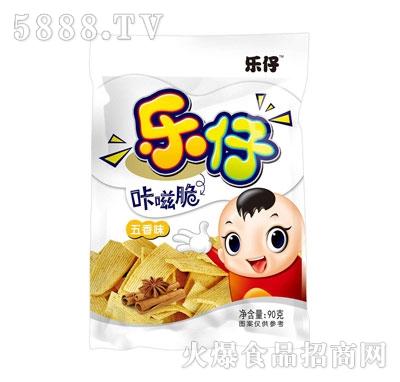 乐仔咔嗞脆五香味90g