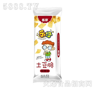 乐仔土豆脆麻辣味42g