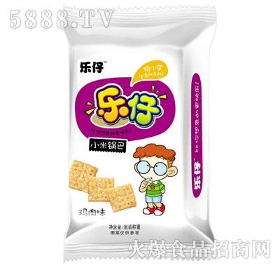 乐仔小米锅巴鸡肉味(袋装)