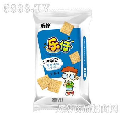 乐仔小米锅巴五香味90g