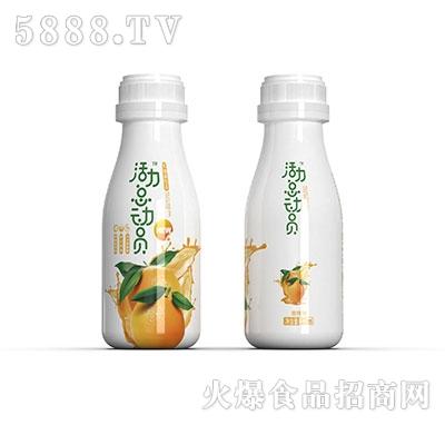 活力总动员乳酸菌饮品甜橙味333ml