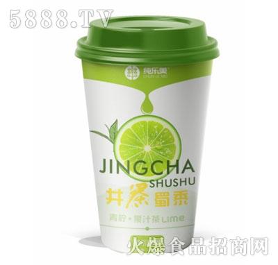 纯乐美青柠果汁茶400ml