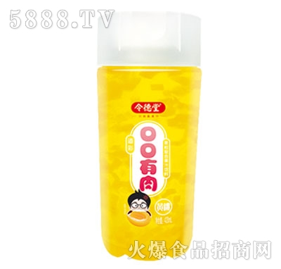 令德堂口口有肉黄桃果汁饮料420ml