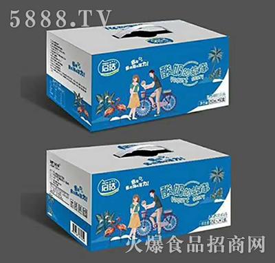启活酸奶的故事酸奶饮品箱装