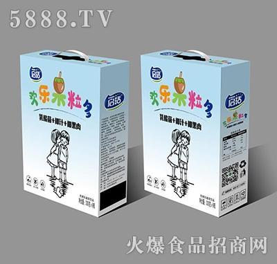 启活椰汁+椰果乳酸菌饮品330g×8瓶