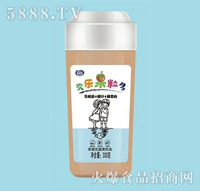启活椰汁+椰果乳酸菌饮品330g