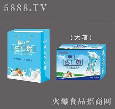 果仁杏仁露植物蛋白饮品240ml
