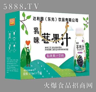 葚果汁乳味果汁饮料310ml×12瓶