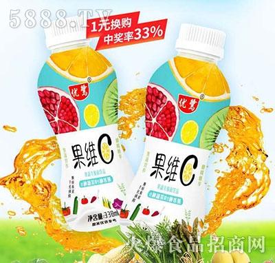 优鹭果维生C果蔬乳酸菌饮品