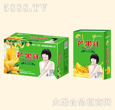 亲近福芒果汁风味饮料310ml罐