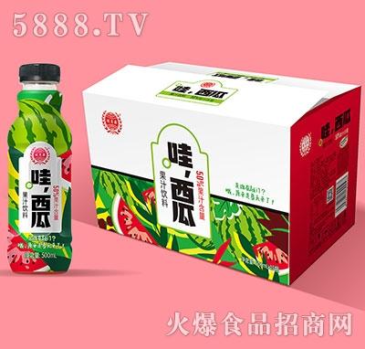���源哇西瓜果汁�料500mlx15
