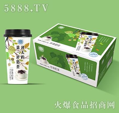 优贝源珍珠奶茶420mlx15
