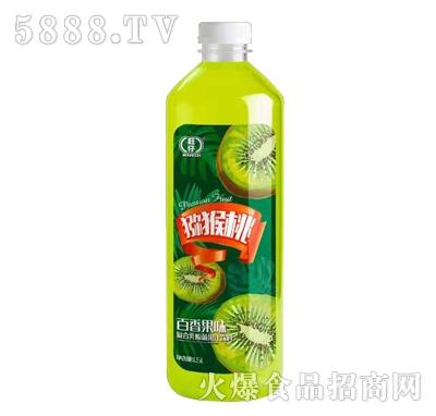 旺仔猕猴桃复合乳酸菌果汁饮料1.5L