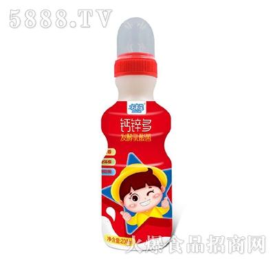 末末星钙锌多发酵乳酸菌饮料200ml