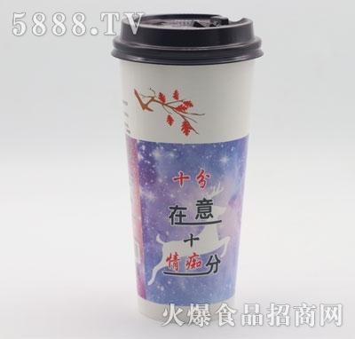 蜜桃乌龙牛乳茶(杯装)