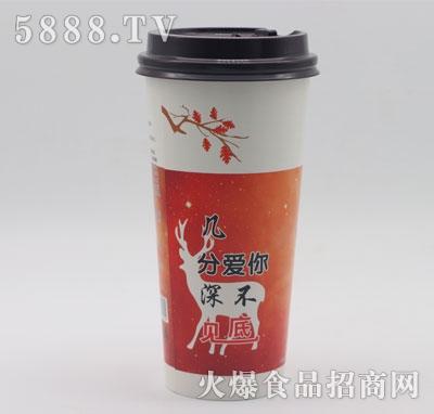 草莓牛乳茶(杯装)