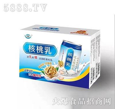 核桃乳花生核桃乳复合蛋白饮品