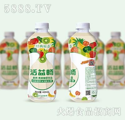 活益畅果蔬酸奶饮品420ml