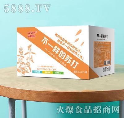 乐能乐金银花苏打水饮料355mlX24