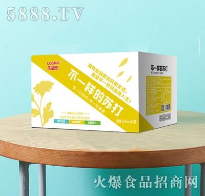 乐能乐蜂蜜苏打水饮料355mlX24