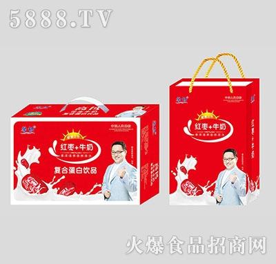 馨畅红枣+牛奶复合蛋白饮品箱装