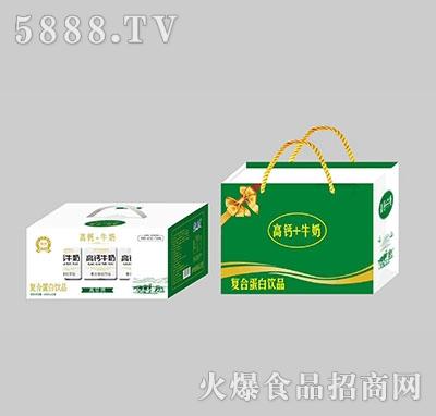 馨畅高钙+牛奶复合蛋白饮料250ml×12盒