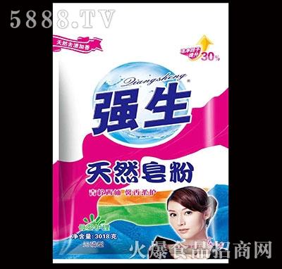 强生天然皂粉3018g